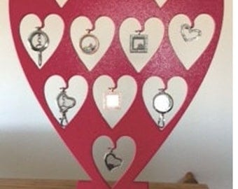 Heart Locket Display Perfect for Our Hearts Desire lockets