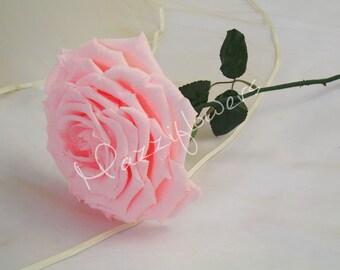 Bridal bouquet,bridesmaids bouquet,big rose,wedding bouquet,paper flower bouquet,paper flower decor,paper roses,
