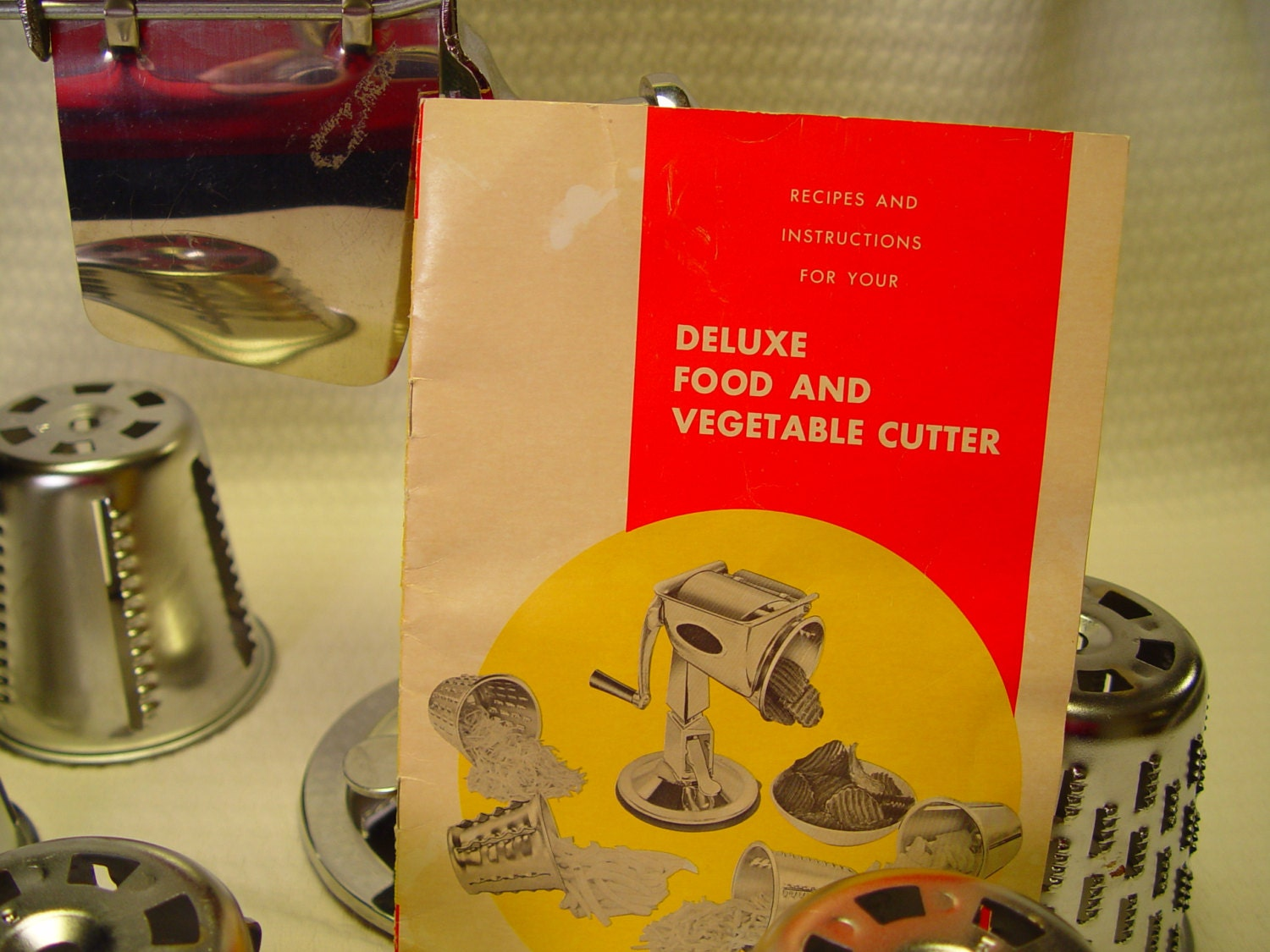 Kitchen Quip Inc Deluxe Food And Vegetable Cutter