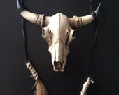 The Tribe of High Class Gypsy Bull Skull Necklaces