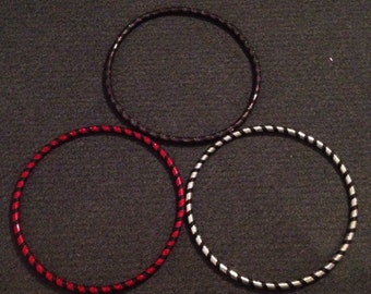 Custom Taped Set of 3 Mini Juggling Hoops