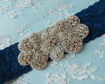 Wedding Garter, Bridal Garter, Garter, Gatsby Garter, Lace Garter, Garters, Bride Garter, Rhinestone, Gatsby, 1920, sparkle Garter, Keepsake