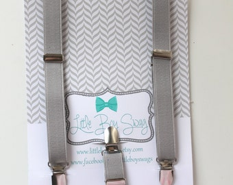 Gray suspenders..Baby boy first birthday..Wedding..Ring bearers..Groomsman..Kids outfits..Valentins day..Cake smash..Baby boy outfits..boys