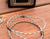 your place for recycled guitar string jewelry by pickyourstrings. Black Bedroom Furniture Sets. Home Design Ideas