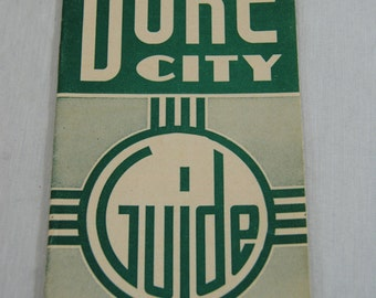 the Duke City Guide Jack Dempsy Ad on the back