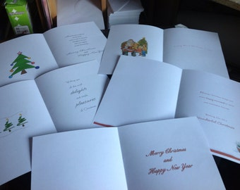 Christmas Card Inserts
