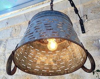 Metal Lighting Basket Pendant LightingRustic LightingLight FixtureMetal Industrial Lighting & Metal lighting | Etsy azcodes.com