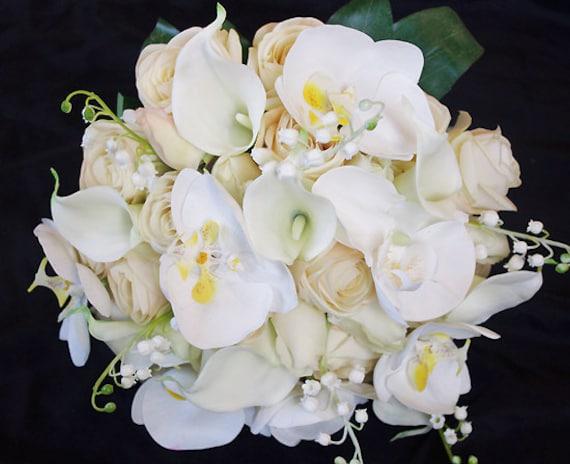 bouquet sposa orchidee e rose