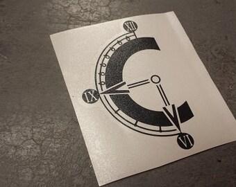 """5"""" Chrono Trigger """"C"""" vinyl sticker"""