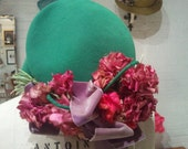 Bright and Cheery 1940s Walter Florell Hat