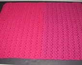"SALE- 23 1/2"" x 17 1/2"" Small Baby, Child, Doll or Pet Blanket"