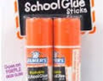 Elmer's Disappearing Purple School Glue 2 tubes