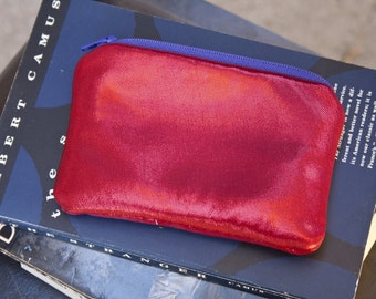 Metallic Red Coin Purse by FanGirl. SuperHero.
