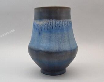 Karlsruhe Majolika ceramic  vase - Germany