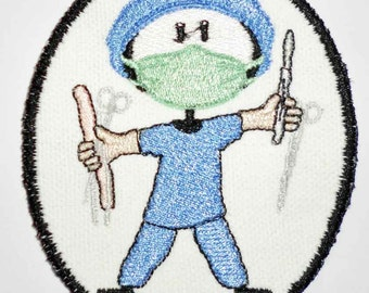 Iron-On Patch - SURGEON/DOCTOR