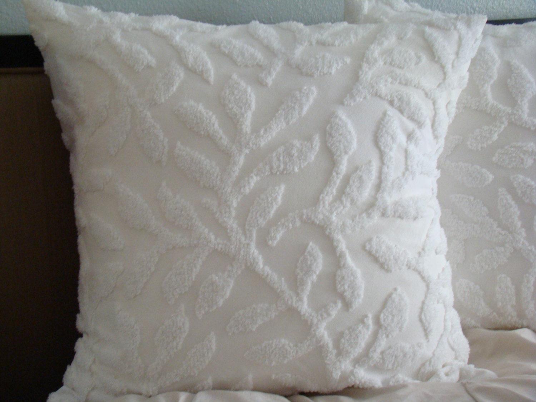 White Decorative Pillow Shams : 6 Decorative White Euro Pillow Shams - Homes Decor 21464