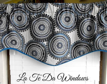 Window treatment sale, Cheap valances, Closeout valance, Clearance sale valance, Sale valance, Blues valance, Waverly valance, ModernValance