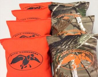 Cornhole Bags Bean Bags/Baggo Toss ACA Regulation Sz Double Stitched Set of 8 (12)