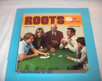 ROOTS WORD GAME by Louis F. Petrossi 1978