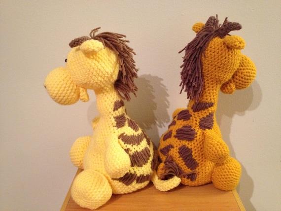 Amigurumi Hello Kitty Abeja : BIG Giraffe: crochet stuffed animal by BrenleyCreations on ...