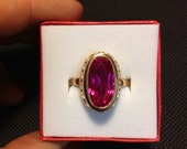 Ring gold 583 vintage rare.  Russia, USSR