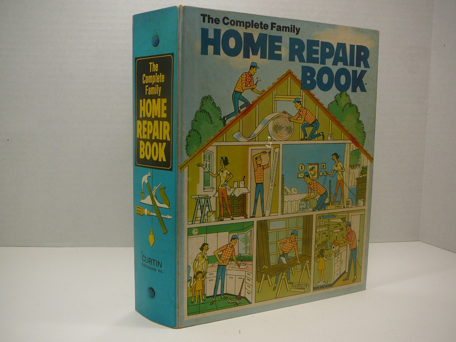 the complete family home repair book 1972 vintage home book