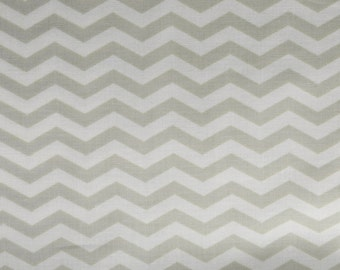 SALE True Colors Chevron in Dove by Heather Bailey for Free Spirit Fabrics
