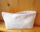 DIY Plain Blank Big Canvas Pencil Bag, Pouch, Decoupage, fabric marker, blank own design bag, kids crafts, ShineKidsCrafts