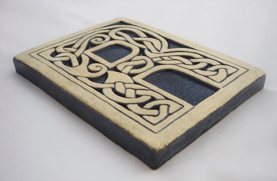 items similar to letter r celtic knot alphabet tile on etsy