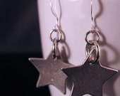 Wonder Woman earrings silver stars by Canadian designer Rosemary Lucy Designs jewelry women