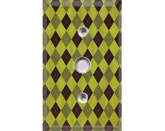 Nature Lover Collection - Argyle Cable Cover