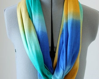 Multi Color Infinity Scarf-Lighweight