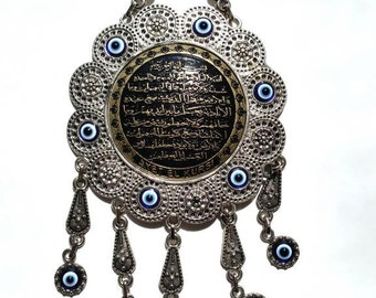 Evil Eye Charm Hanging Ornament for Protection Wall Hanging