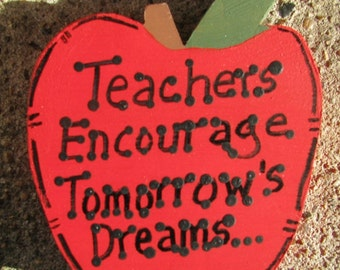Teachers Gifts -TETD 23   Teachers Encourage Tomorrow's Dreams