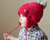 Made to order - Hand Knit Child Hat - Little