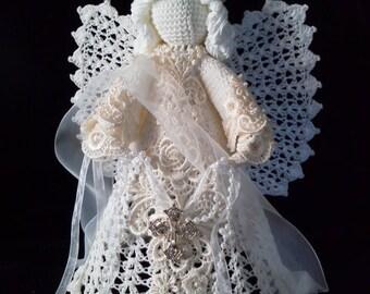 Beautiful Crocheted Angel