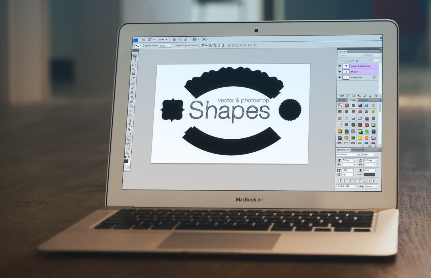 how to make a vector eps file in photoshop