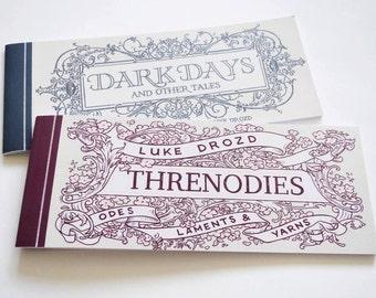 Threnodies and Dark Days - Double Pack of Comic Strip Books