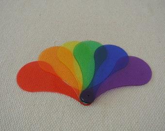 Montessori Transparent Color Paddle