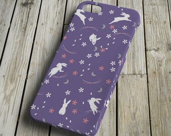Rabbits - purple - iPhone 5 Case - iPhone 5 Cover - Plastic iPhone 5 Case