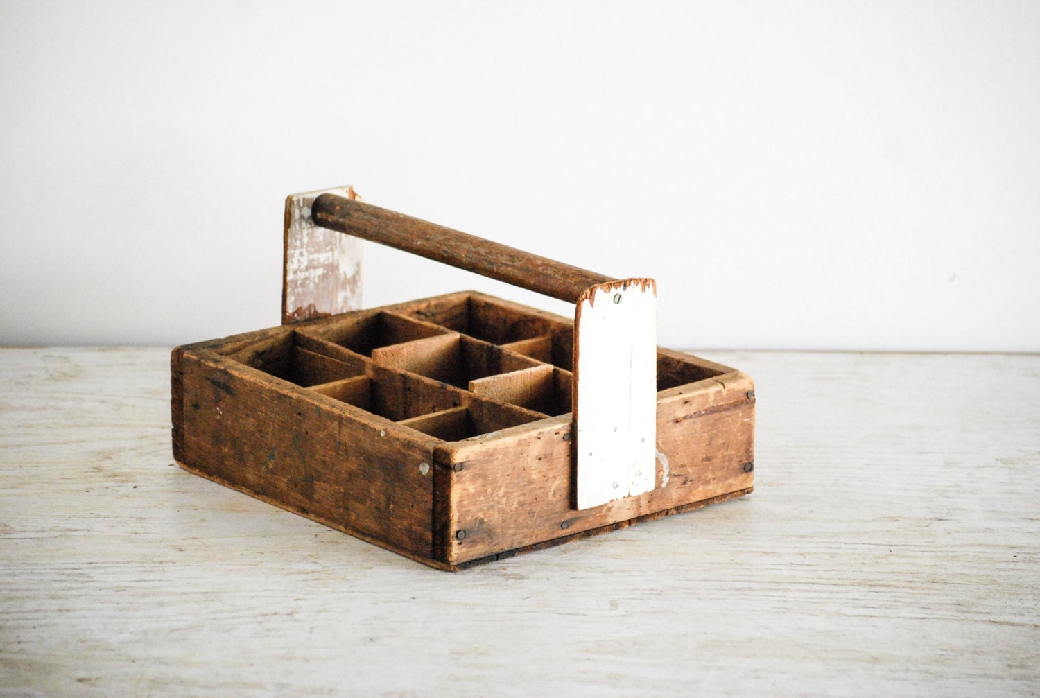 Wood Caddy Wooden Tool Box Caddy Tote Wood Box With Handle