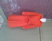 Vintage Orange Dress by C...