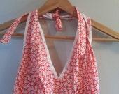 70s Maxi Hippie Prairie Floral Fesitival Dress