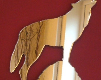 Howling Wolf Mirror - 5 Sizes Available