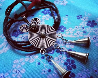 Human Spirit Soul Lock Necklace Customized Thailand Hill Tribe Amulet Pendant Hmong Jewelry Xauv