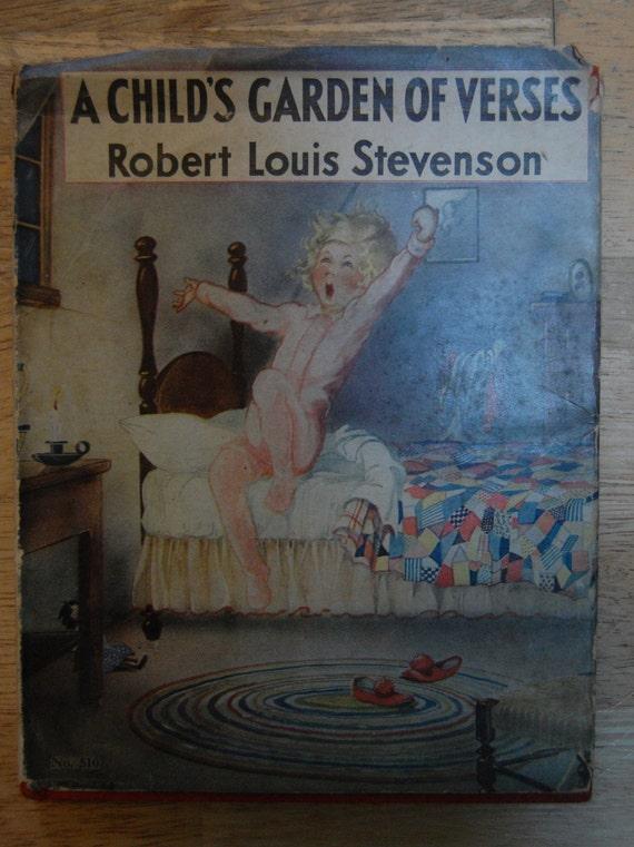 A Child 39 S Garden Of Verses Robert Louis Stevenson 1932