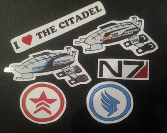 Mass Effect (Magnets or Stickers!)