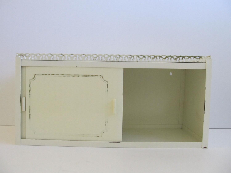 Beau Small Antique Brass Medicine Cabinet: Medicine Cabinet Metal Cabinet Vintage Medicine Cabinet
