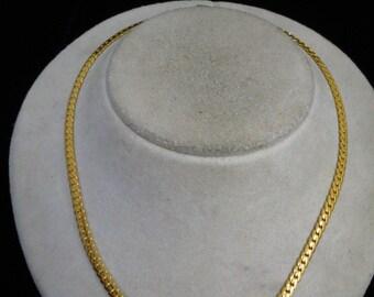 Vintage Signed Monet Rhinestone Necklace