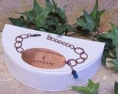 Gastroparesis Warrior Copper Bracelet